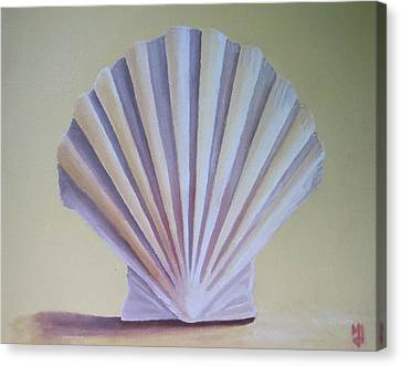 Seashell II Canvas Print by Michael Holmes