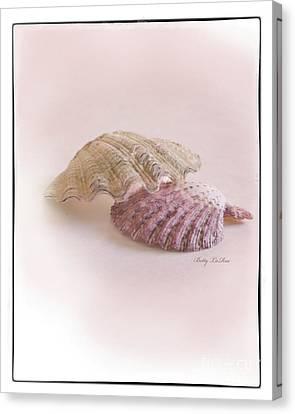 Seashell Love Canvas Print by Betty LaRue