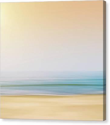 Seashore Canvas Print by Wim Lanclus