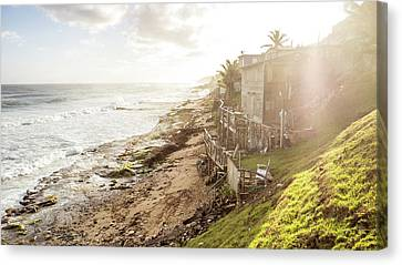 Seaside Canvas Print by Michael Weber