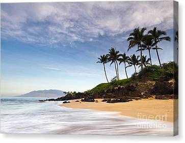 Secret Beach Maui Sunrise Canvas Print by Dustin K Ryan