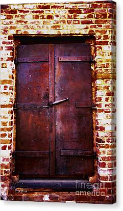 Secret Door Canvas Print by Cheryl Young