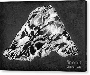 Secret Mountain Canvas Print by Mary Zimmerman