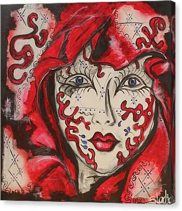 Secret Canvas Print by Sladjana Lazarevic