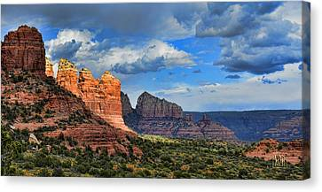 Sedona After The Storm Canvas Print by Dan Turner