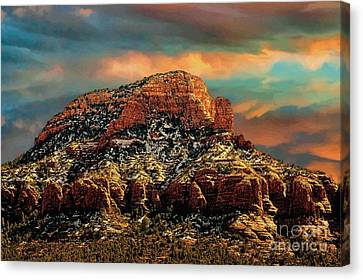 Sedona Dawn Canvas Print by Jon Burch Photography