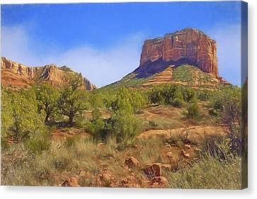 Sedona Landscape - 1 - Arizona Canvas Print by Nikolyn McDonald
