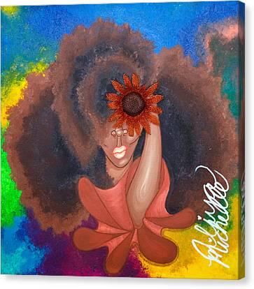See No Evil Canvas Print by Aliya Michelle
