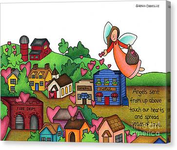 Seeds Of Love Canvas Print by Sarah Batalka