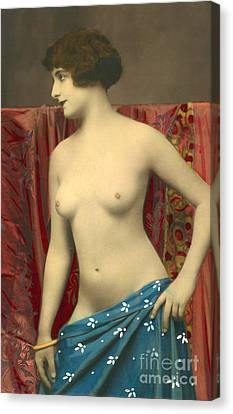 Semin Nude Girl Canvas Print by French School