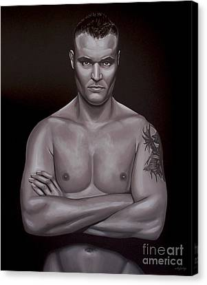 Semmy Schilt Canvas Print by Paul Meijering