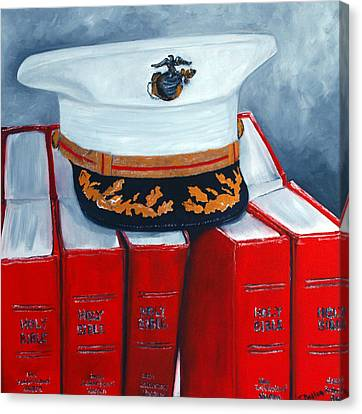 Semper Fi Canvas Print by Traci Dalton