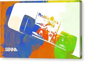 Senna Canvas Print by Naxart Studio
