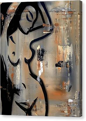 Sensual Movement Canvas Print by Tom Fedro - Fidostudio