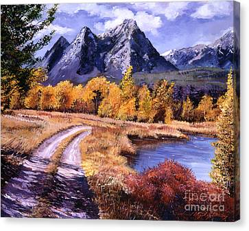 September High Country Canvas Print by David Lloyd Glover