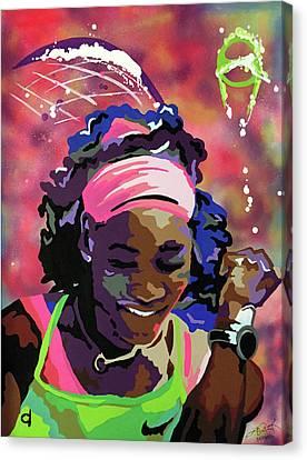 Serena Canvas Print by Chelsea VanHook