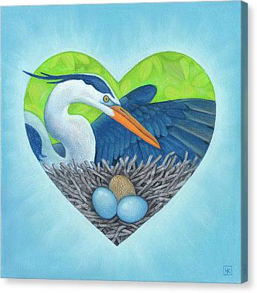 Serena Canvas Print by Lisa Kretchman