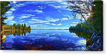 Serene Reflections Canvas Print by ABeautifulSky Photography