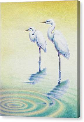 Serenity Canvas Print by Amy S Turner