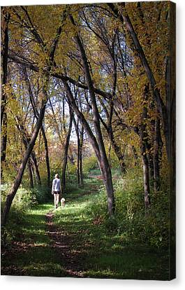 Serenity Canvas Print by George Hausler
