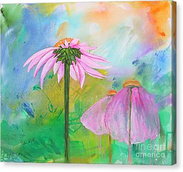 Serenity Canvas Print by Jutta Maria Pusl