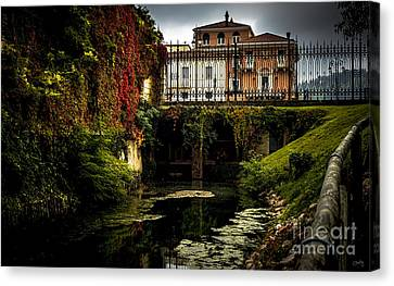 Seriola With Autumn Colors Canvas Print by Prints of Italy