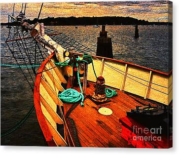 Set Sail Canvas Print by Jeff Breiman