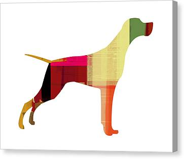 Setter Pointer Canvas Print by Naxart Studio