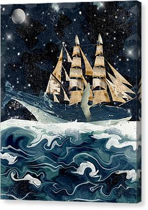 Setting Sails Canvas Print by Bri B