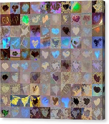 Seven Hundred Series Canvas Print by Boy Sees Hearts