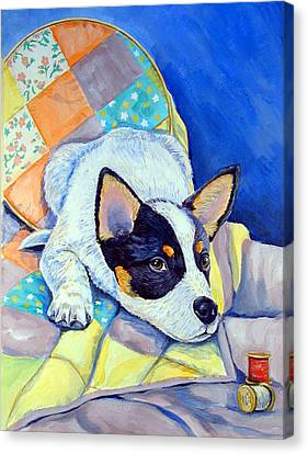 Sew Sweet Canvas Print by Lyn Cook