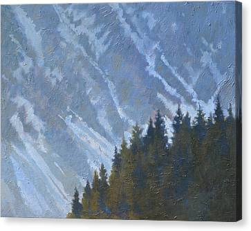 Seward Mountain Canvas Print by Robert Bissett