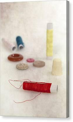 Sewing Supplies Canvas Print by Joana Kruse