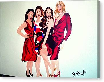 Sex And The City 2 Canvas Print by Pauline Murphy