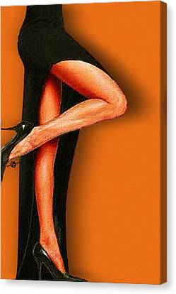 Sexy Pins Also Known As Legs 2 Canvas Print by Tony Rubino
