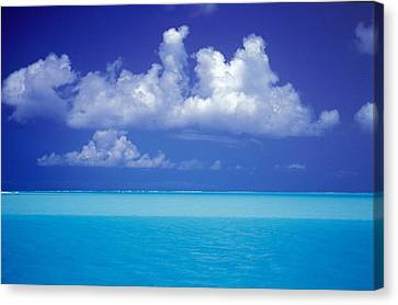 Shades Of Blue Canvas Print by Ron Dahlquist - Printscapes