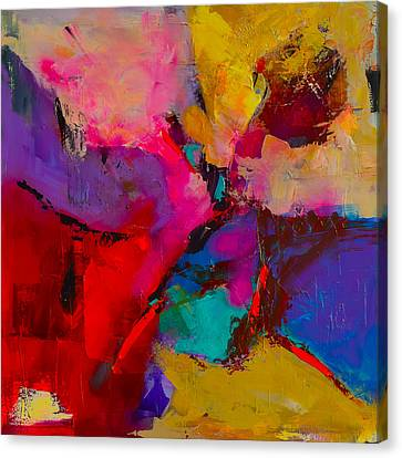 Shades Of Colors - Art By Elise Palmigiani Canvas Print by Elise Palmigiani