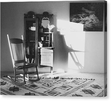 Shadow Time Canvas Print by Allan McConnell