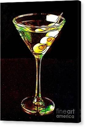 Shaken Not Stirred Canvas Print by Wingsdomain Art and Photography