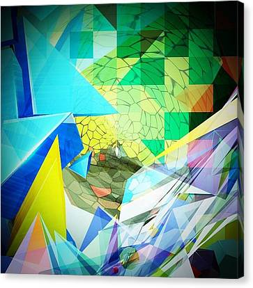 Shaoes Canvas Print by Contemporary Art