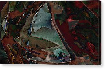 Shards 2 Canvas Print by Brent Gabriel