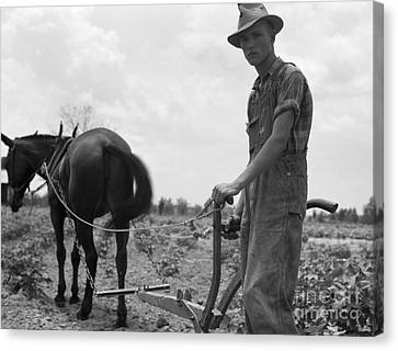 Sharecroppers Son, 1937 Canvas Print by Granger