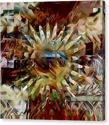 Shattered  Canvas Print by Cathleen Edick