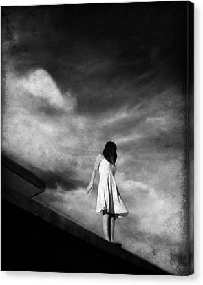 She Said Goodbye To The Gound Canvas Print by Dylan Murphy