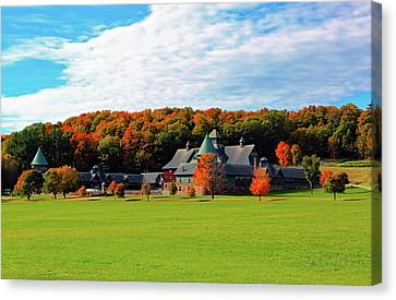Shelburne Farm Vermont Canvas Print by William Alexander
