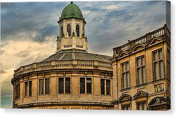 Sheldonian Theatre Evening Canvas Print by Stephen Stookey