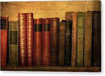Shelf Life Canvas Print by Jessica Jenney