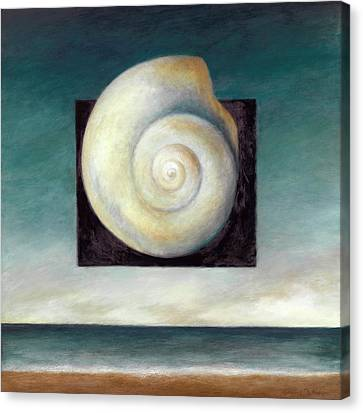 Shell 2 Canvas Print by Katherine DuBose Fuerst