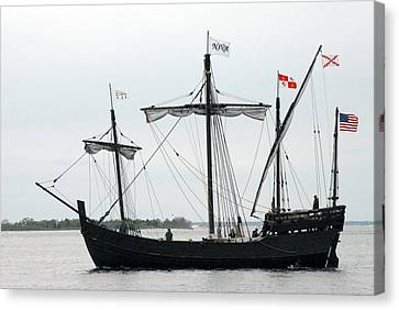 Ship 13 Canvas Print by Joyce StJames