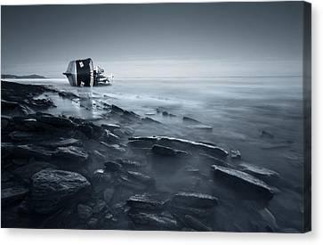 Shipwreck Canvas Print by Inigo Barandiaran